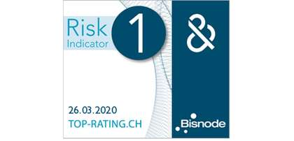 Das Banner des D&B Rating Certificates 2020